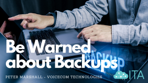 Be warned about Backups